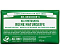 Dr. Bronner's Magic Soap Bar - Pflanzliche Seife Mandel