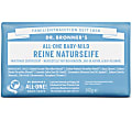 Dr. Bronner's Baby Magic Soap Bar - Pflanzliche Seife (ohne Duftstoffe)