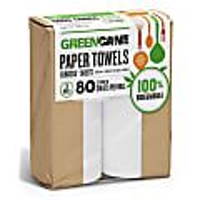 Greencane 2 lagige Küchentücher (80 Blatt) 2er Pack