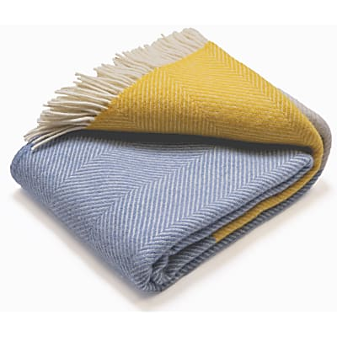 Atlantic Blankets 100% Wolle - Dawn Tides 130 x 150 cm