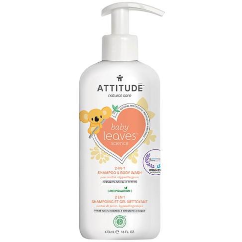 Attitude Baby Leaves 2 in 1 Shampoo & Duschgel - Birnen Nektar