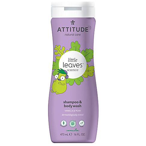 Attitude Little Leaves 2 in 1 Shampoo & Duschgel - Vanilla & Pear