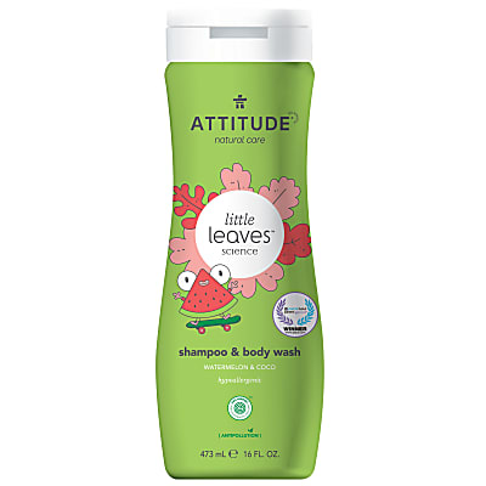 Attitude Little Leaves 2 in 1 Shampoo & Duschgel - Watermelon & Coco