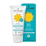 Attitude Little ones 100% Mineralischer Sonnenschutz LSF 30 - Ohne Duftstoffe 75g
