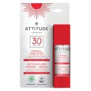 Attitude Face Stick SPF 30 fragrance free - Sonnenschutzstick für das Gesicht LSF 30
