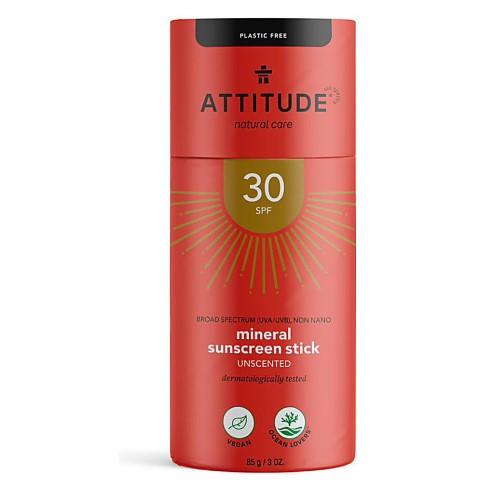 Attitude Sunscreen Stick - SPF 30 - unscented