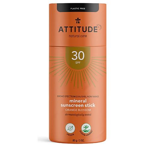 Attitude Sunscreen Stick SPF 30 Orange Blossom - Sonnenschutzstick Orangenblüte
