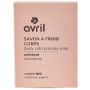 Avril Savon à Froid Corps exfoliant - kalt gesiedete Bio-Peelingseife