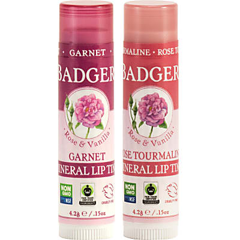 Badger Tinted Lip Balms