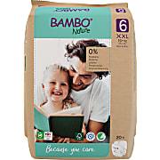 Bambo Nature Windeln - XL Plus - Größe 6 - Packung mit 22 Windeln