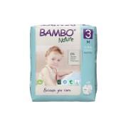 Bambo Nature Windeln - Midi - Größe 3 - Packung mit 28 Windeln