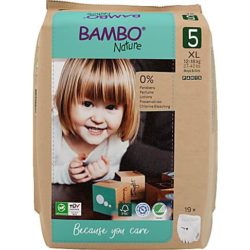 Bambo Nature Training Pants - Junior - Größe 5 - Packung mit 20 Windeln
