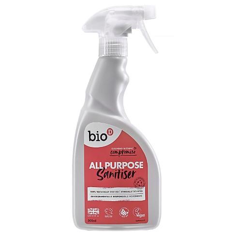 Bio-D All Purpose Sanitiser - Allzweckreiniger Spray
