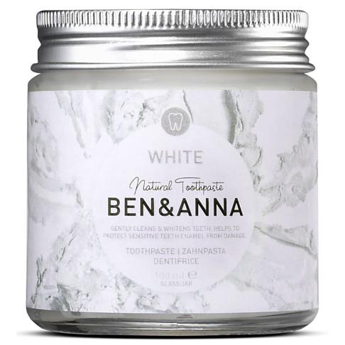 Ben & Anna Natural Toothpaste White - Zahnpasta im Glas