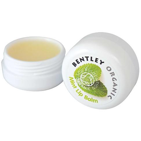 Bentley Organic Lippenbalsam mit Minze