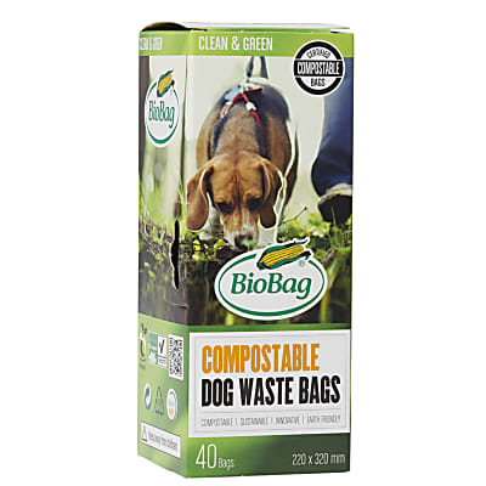 BioBag Kompostierbare Hundekotbeutel (40 Stück)
