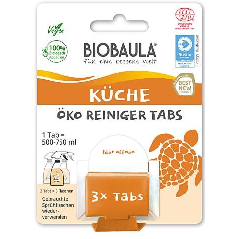 Biobaula Küchenreiniger Tabs für bis zu 3 L