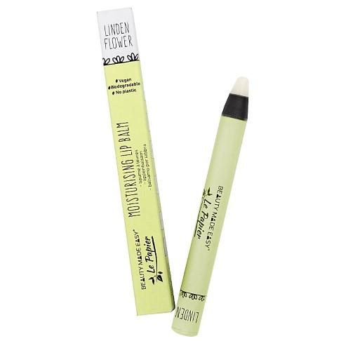 Beauty Made Easy Le Papier Moisturizing Lip Balm LINDEN FLOWER - Lippenbalsam
