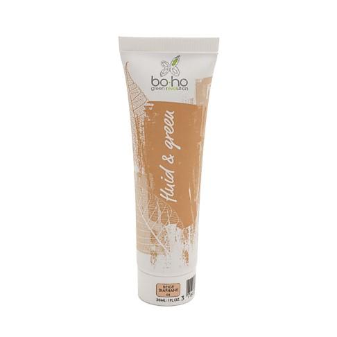 Boho Bio Fluid Foundation 01 - Beige diaphane