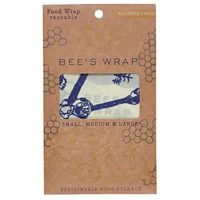 Bee's Wrap 3er-Pack Bees&Bears small/medium/large