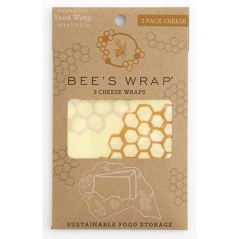 Bee's Wrap 3-er-Pack Käse