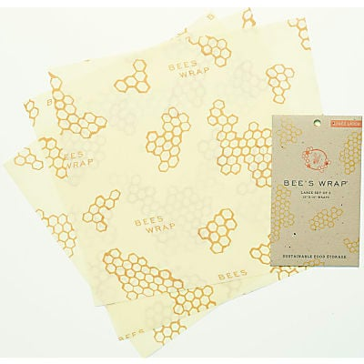 Bee's Wrap 3er-pack Large 33 x 35 cm
