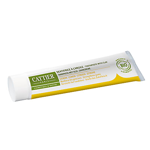 Cattier Heilerde Zahncreme Zitrone - 75ml