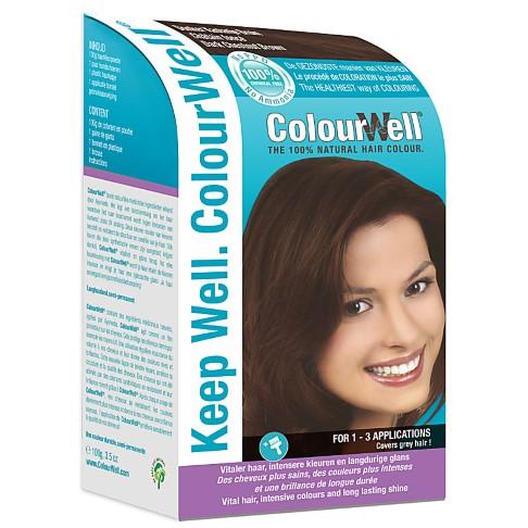 ColourWell Dark Chestnut Brown - Natürliche Haarfarbe