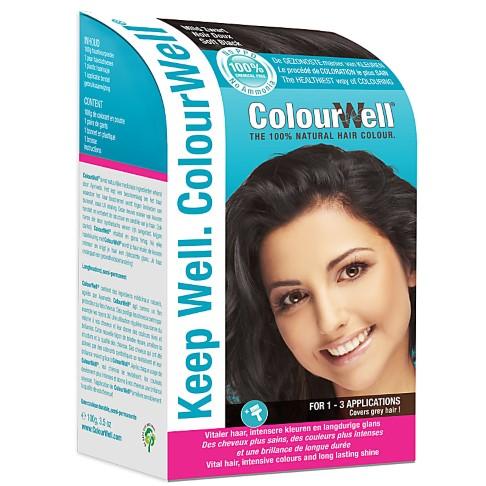 ColourWell Soft Black - Natürliche Haarfarbe
