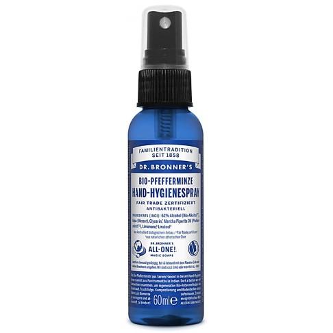 Dr. Bronner's Bio Hand Hygienespray Pfefferminze
