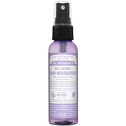 Dr. Bronner's Bio-Lavendel Hand-Hygienespray - 59 ml