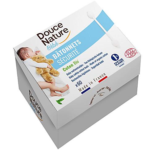 Douce Nature - Baby Sicherheitswattestäbchen