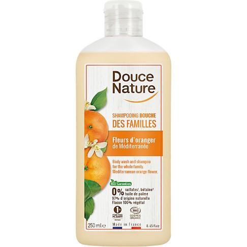 Douce Nature Shampooing Douche Des Families Fleur d'oranger - Duschgel & Shampoo