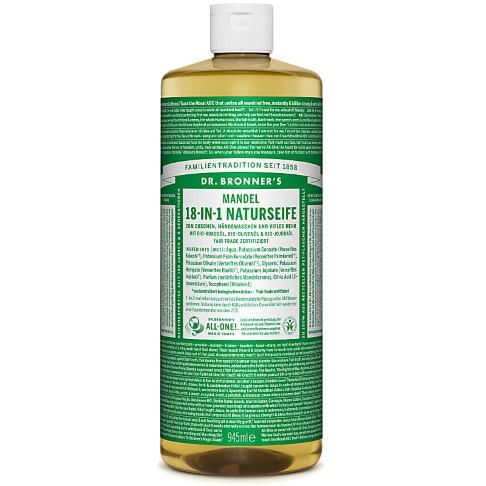 Dr. Bronner's Mandel 18-in-1 Naturseife 945 ml