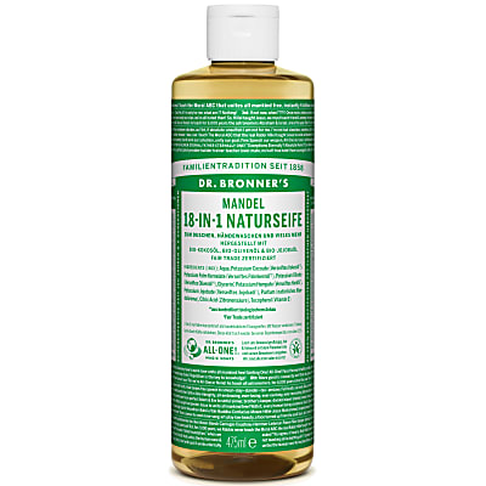 Dr. Bronner's Mandel 18-in-1 Naturseife 475 ml