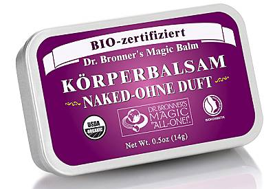 Dr. Bronner's Magic Balm Körperbalsam Naked - ohne Duft