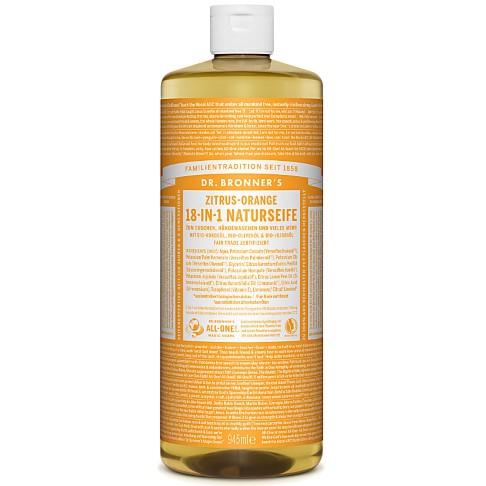 Dr. Bronner's Zitrus-Orange 18-in-1 Naturseife 945 ml
