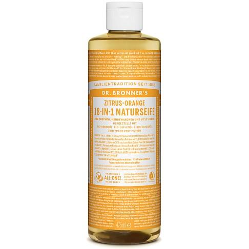 Dr. Bronner's Zitrus-Orange 18-in-1 Naturseife 475 ml