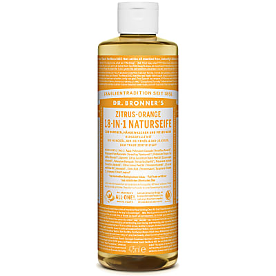 Dr. Bronner's Zitrus-Orange 18-in-1 Naturseife 475 ml