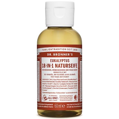 Dr. Bronner's Eucalyptus 18-in-1 Naturseife 60 ml