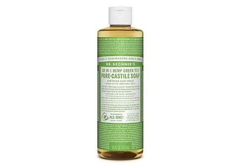 Dr. Bronner's 18-in-1 Hemp Green Tea Pure Castile Soap 475 ml