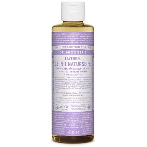 Dr. Bronner's Lavendel 18-in-1 Naturseife - 240 ml