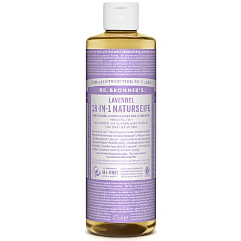 Dr. Bronner's Lavendel 18-in-1 Naturseife 475 ml