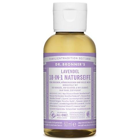 Dr. Bronner's Lavendel 18-in-1 Naturseife 60 ml