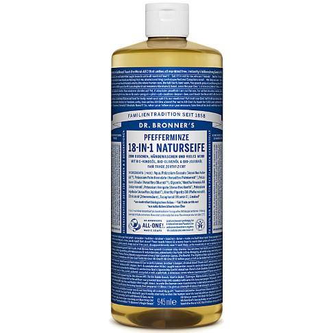 Dr. Bronner's Pfefferminze 18-in-1 Naturseife 945 ml