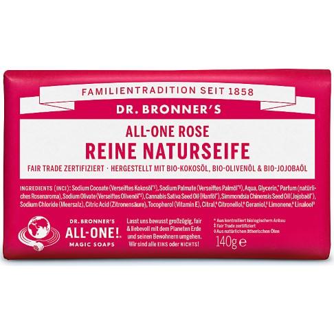 Dr. Bronner's All-One Rose Reine Naturseife