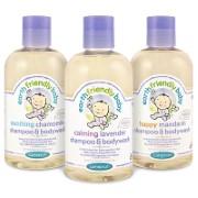 Earth Friendly Baby Shampoo und Duschbad
