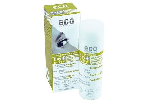 eco cosmetics Day & Gesichtscreme getönt LSF15