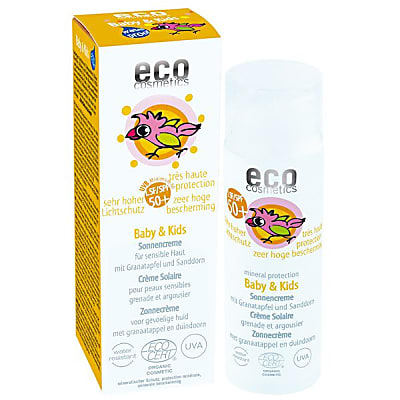 eco cosmetics Baby Sonnencreme LSF50+