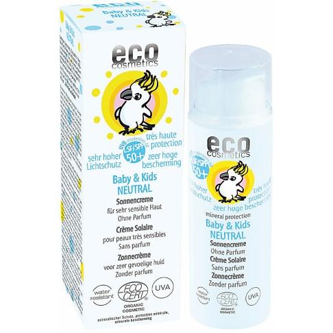 eco cosmetics Baby & Kids Sonnencreme LSF 50+ NEUTRAL - ohne Parfum